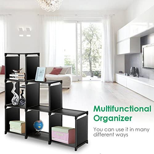 home, kitchen, furniture, home office furniture,  bookcases 7 image TomCare Cube Storage 6-Cube Closet Organizer Shelves deals