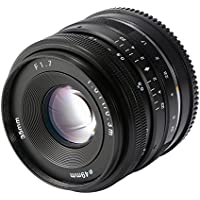 XCSOURCE 35mm F1.7 Large Aperture Manual Prime Fixed Lens for Sony E-Mount APS-C Digital Mirrorless Cameras NEX 33N/5/5T/5R/6/7 LF843