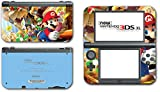 Super Mario Party Island Tour Wario Luigi Yoshi Bowser 10 Peach Video Game Vinyl Decal Skin Sticker Cover for the New Nintendo 3DS XL LL 2015 System Console
