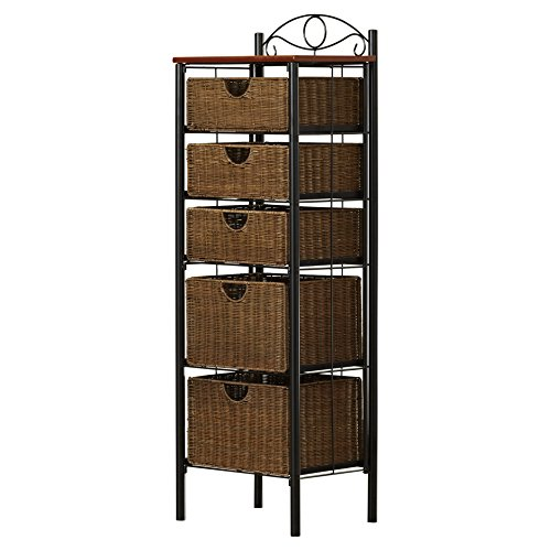 511xzBc4SiL - Darby Home Co - Caroleann Cabinet, Linen tower