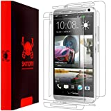HTC One Max Screen Protector + Full Body, Skinomi TechSkin Full Coverage Skin + Screen Protector for HTC One Max Front & Back Clear HD Film