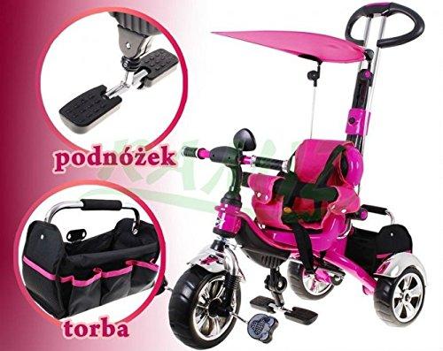 SporTrike Classic EVA Vélo pour enfant Tricylce - Rose BSD