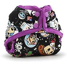 Kanga Care Rumparooz Cloth Diaper Cover Snap, Tokispace/Orchid/Multi, Newborn
