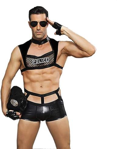 Lencería Sexy Hombres Caliente, Erótica Oficial policía Cosplay ...