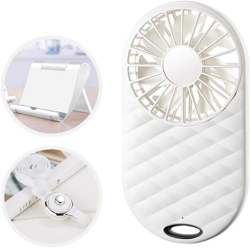 Color : J BNSDMM Mini Fan USB Charging Student Dormitory Bed Portable Light and Quiet Portable Portable Fan