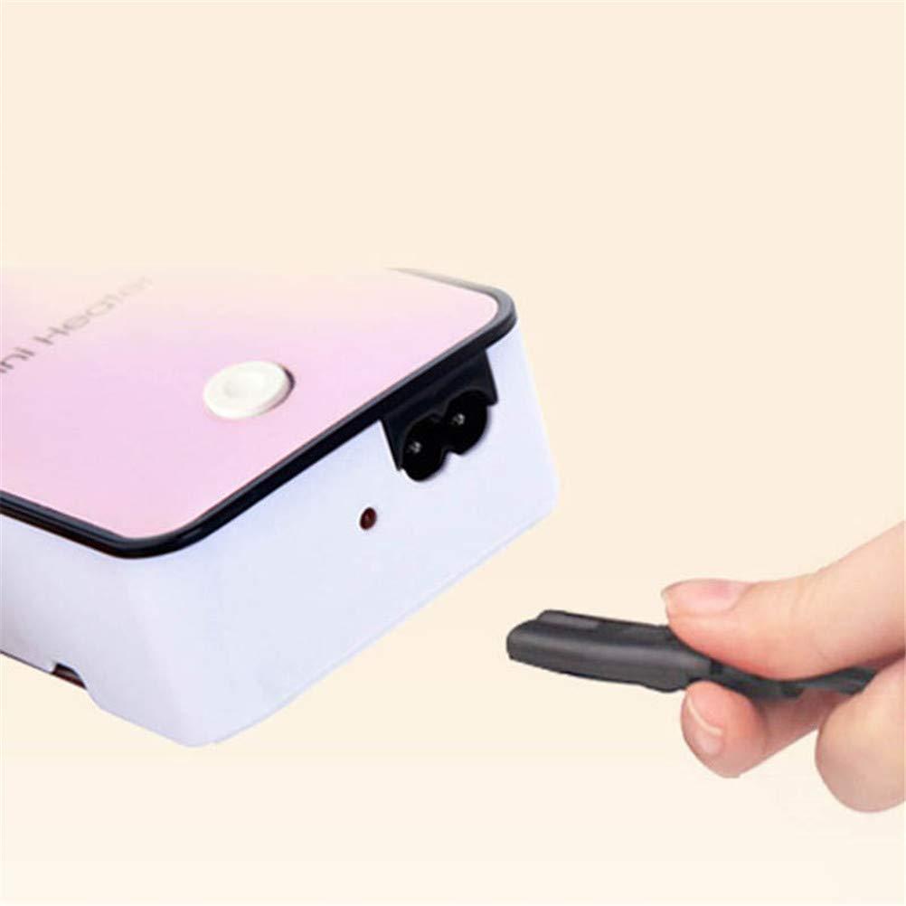 Starmood Portable Mini Portable /Électrique Radiateur Hiver Int/érieur /à Poser Air Ventilateur Chauffe pour Maison Bureau Radiateur Vert