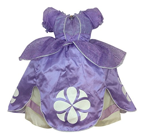 [Disney Store Princess Sofia the First Costume Dress - Size 7/8] (Sofia The First Dress Up Costume)