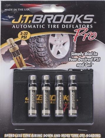 J.T. Brooks Automatic Tire Deflators PRO (ATDP4)