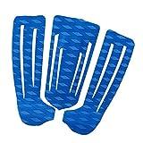 Dolity 3 Unids de Almohadilla de Tracción Materiales de Deportes Multiusos Shortboard Skimboard Ligero