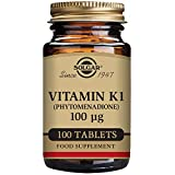 Solgar – Vitamin K, 100 mcg, 100 Tablets For Sale