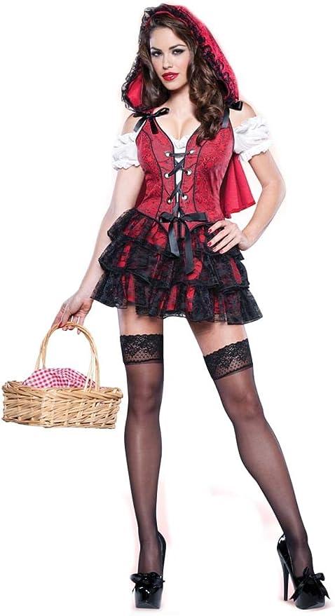 Disfraz Caperucita Roja para mujer -Premium: Amazon.es: Juguetes y ...