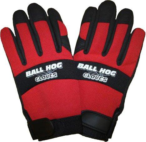 Ball Hog Ball Handling Gloves (Medium (Middle - Gloves Dribble