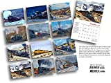 Great Trains 2018 Calendar