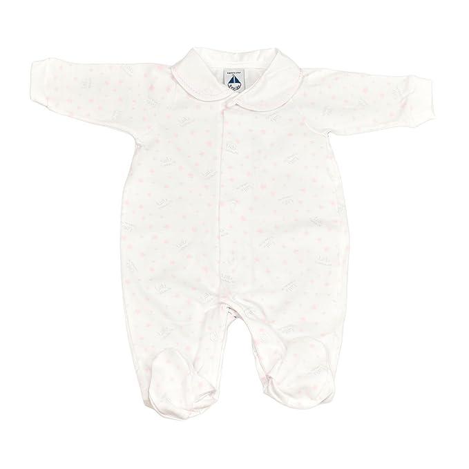 BABIDU 11234, Pelele Unisex bebé, (Rosa 001), 62 (Tamaño del