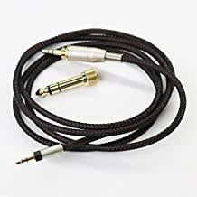 1.5m 4.5ft NEW OFC Replacement Audio upgrade Cable For Sennheiser Momentum over-Ear On-Ear Sennheiser Momentum 2.0 Headphones