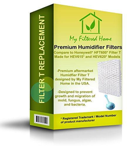 My Filtered Home Replacement Honeywell Humidifier Filter (Filter T and Cleaning Ball Bundle)