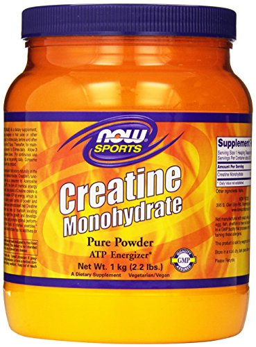 NOW Sports Creatine Monohydrate Powder, 2.2-Pound