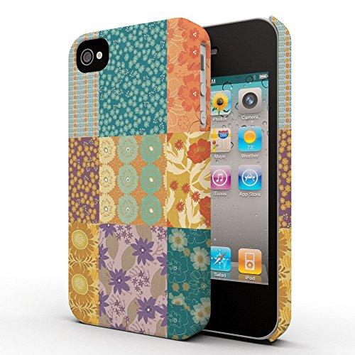Koveru Back Cover Case for Apple iPhone 4/4S - Multi Color Pattern
