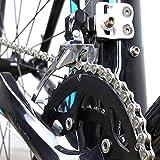 zonkie 6/7/8 Speed Bike Chain 1/2 x 3/32 Inch 116