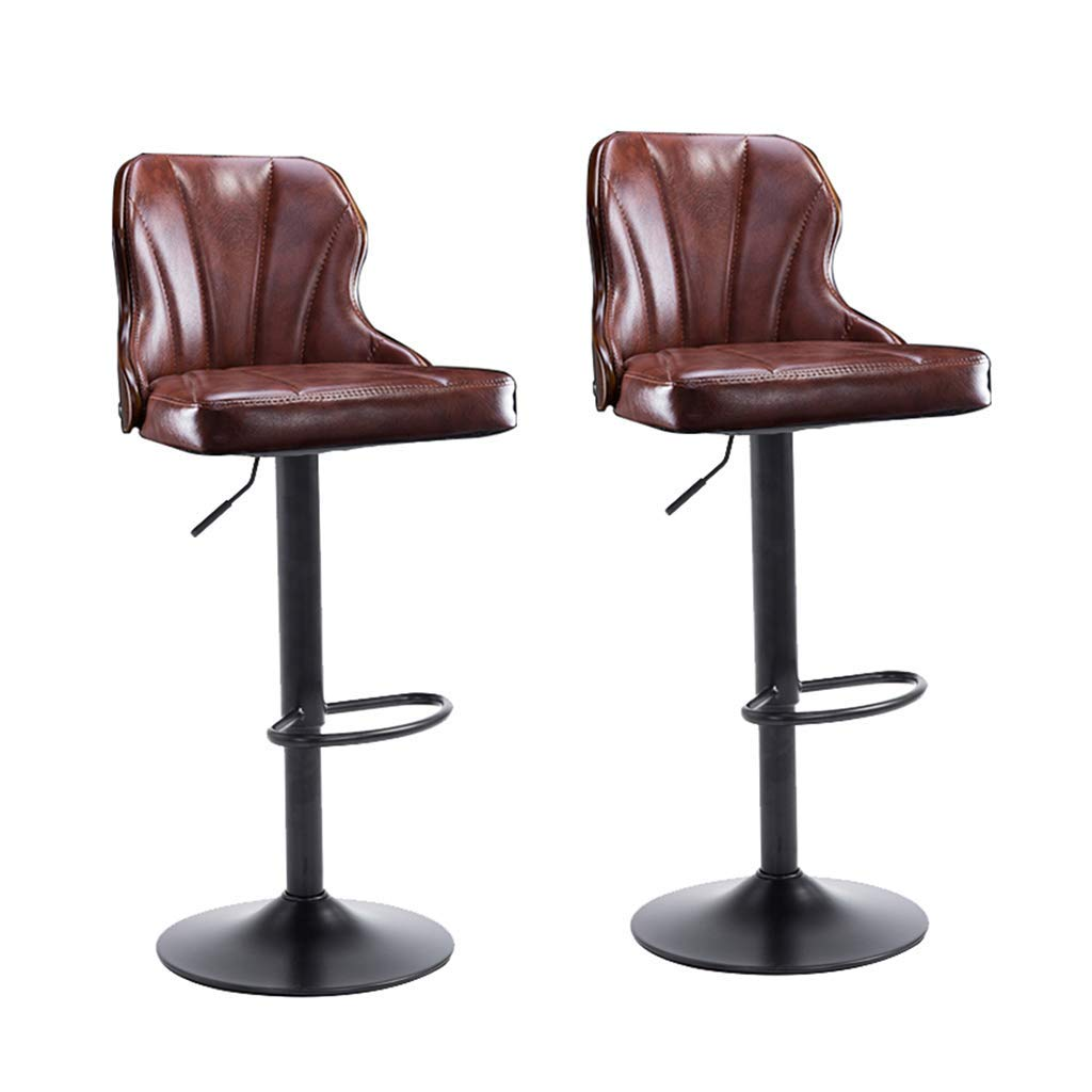 Awesome Amazon Com Qqxx Bar Stools Dining Chairs Set Of 2 Mid Dailytribune Chair Design For Home Dailytribuneorg