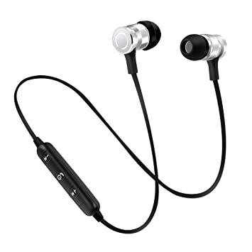 Gazechimp Auriculares Intra-auriculares Inalámbricos Deportivos Bluetooth Con Micrófono Para Móviles Multiusos: Amazon.es: Electrónica