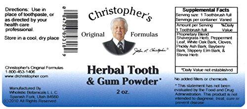 Christopher's Original Formulas Herbal Tooth and Gum Powder
