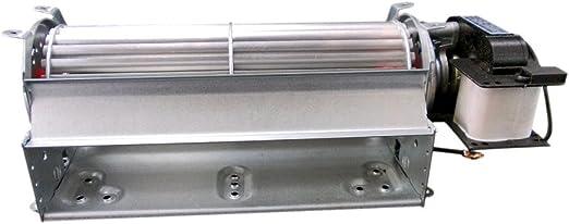 Airtech tangenciales flujo cruzado ventilador de refrigeración ventilador de Motor de horno, 180 mm: Amazon.es: Hogar