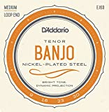 D\'Addario EJ63 Nickel Tenor Banjo Strings, 9-30