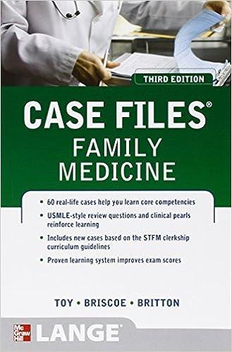 Resultado de imagen de case files family medicine