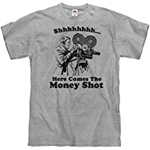 FUNNYSHIRTS.ORG Shhh, The Money Shot: Unisex Fruit of The Loom Midweight T-Shirt