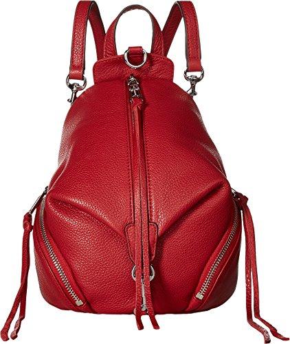 - Rebecca Minkoff Women's Convertible Mini Julian Backpack Scarlet One Size