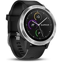 Smartwatch Vívoactive 3, Garmin, Preto