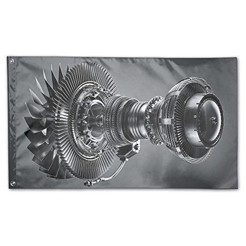 Colby Keats Tomasz Jet Engine Garden Lawn Flags Indoor Outdo