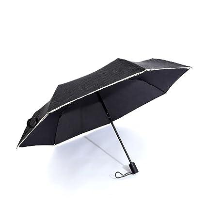 Paraguas De Mujer Ligero Paraguas Plegable Diseño A Prueba De Viento Paraguas De Viaje Mango Antideslizante