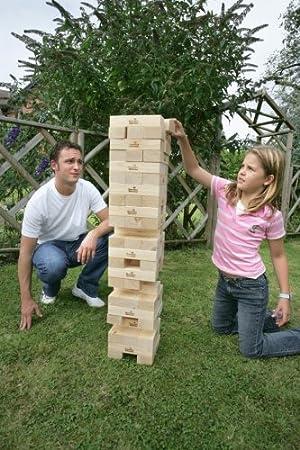 Garden Games - Juego de Torre Gigante: Amazon.es: Juguetes y juegos