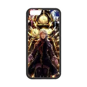 Sakuya Izayoi Touhou Project Anime0 iPhone 6 Plus 5.5 Inch Cell Phone Case Black WON6189218027727