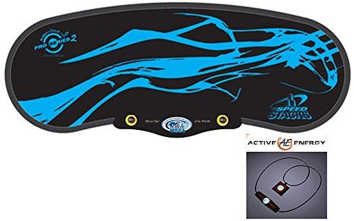 スポーツスタッキング–Speed Stacksプレミアムps2ブルー」Gen 3マットのみでアクティブなエネルギーパワーバランスネックレス$ 49値フリー
