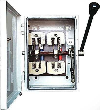 Benlo Change Over Switches 32-Amps 240 Volts (Double Pole).