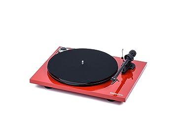 Pro-Ject Essential III audiophiler Tocadiscos con brazo + ...