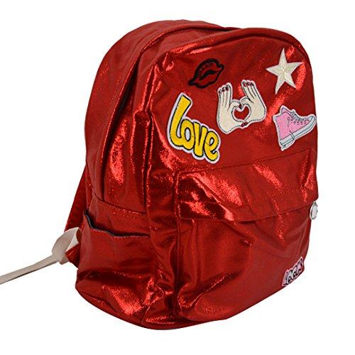 Felice Casual Style Lightweight Zipper Backpack School Bag Travel Daypack ()