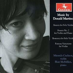 Sonata for Solo Violin/Sonata No. 2 for Violin