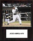 MLB Chicago White Sox Jose Abreu Player Plaque, 12 x 15-Inch
