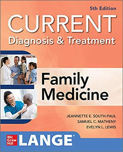 CURRENT Diagnosis & Treatment in Family Medicine, 5th Edition - Original PDF