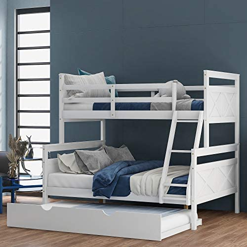 SOFTSEA Kid's Bunk Beds Twin Over Full