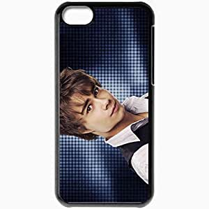 Personalized iPhone 5C Cell phone Case/Cover Skin Alexander rybak singer violinist fairytale Music Black