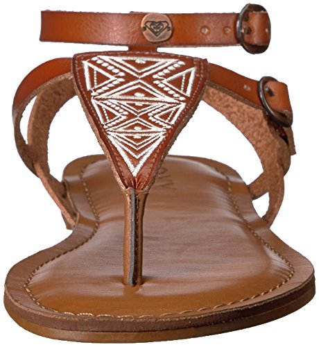 Roxy Women's Sandal Dress Brown Strappy Milet 8B4Yn8a