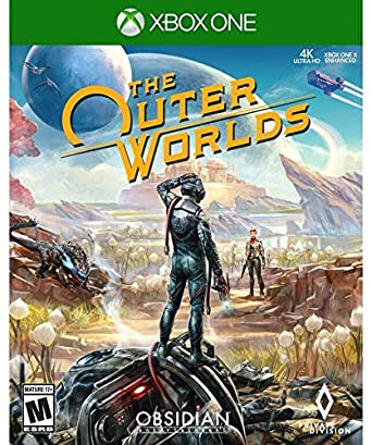 Amazon Com The Outer Worlds Xbox One Take 2 Interactive Video Games