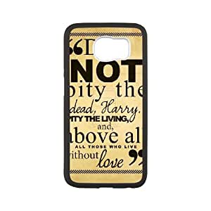 Plastic Durable Cover Apvb Harry Potter quotes For Samsung Galaxy S6 Cases Cell phone Case