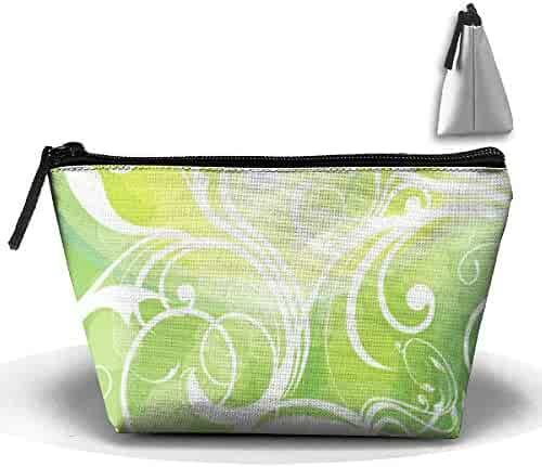 4b11930b70a9 Penilatuy Womens Cosmetic Bag Green Multifunction Makeup Portable Pouch  Handbag Receive Bag