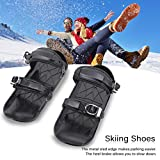QAHEART Mini Ski Skates for Snow,One Size Fits All